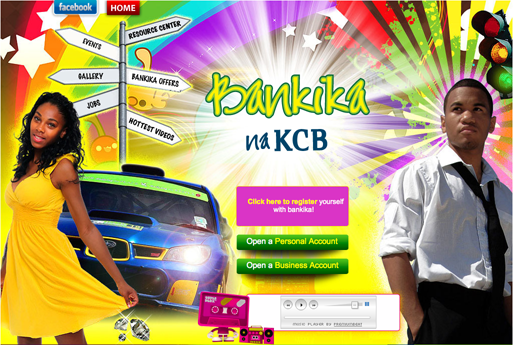 Bankika Account - KCB Kenya Commercial Bank