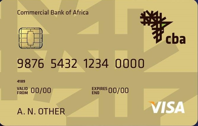 CBA Personal Visa Gold USD Credit Card