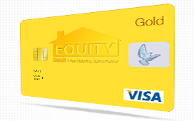 Equity Bank Gold Credit Card