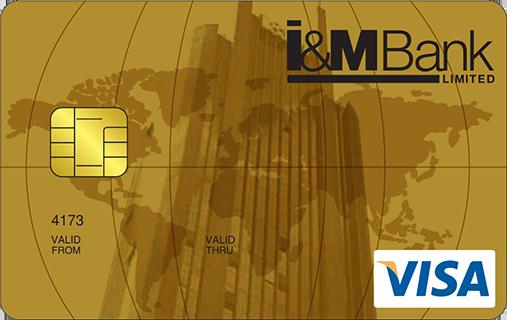 I & M Bank Gold Visa Tamarind Credit Card