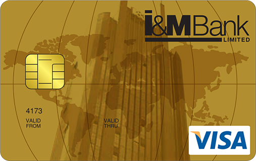 I&M Bank Gold Visa Credit Card
