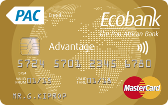 Ecobank Kenya Advantage Gold Credit Card