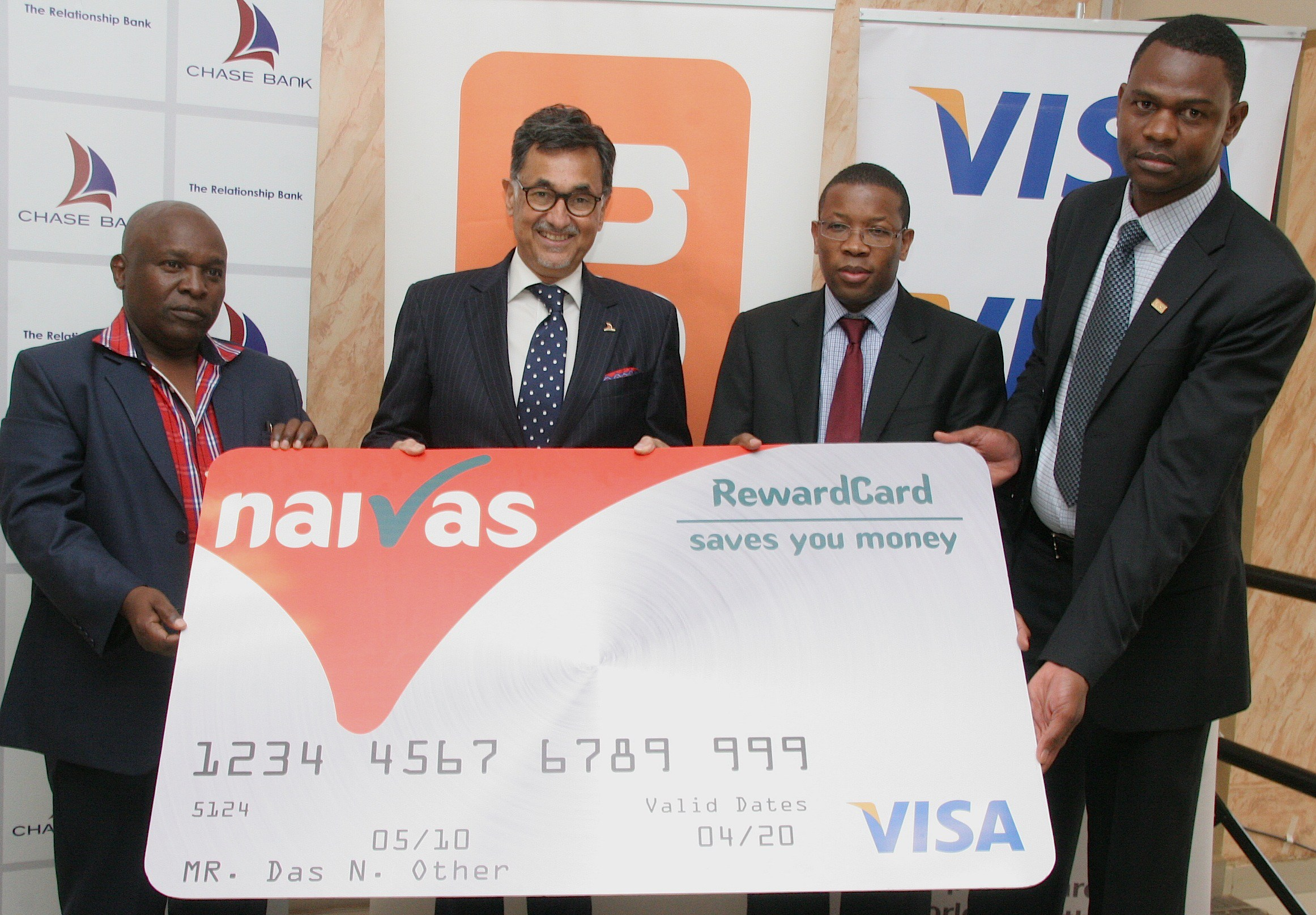 Chase Bank Naivas Loyalty Card