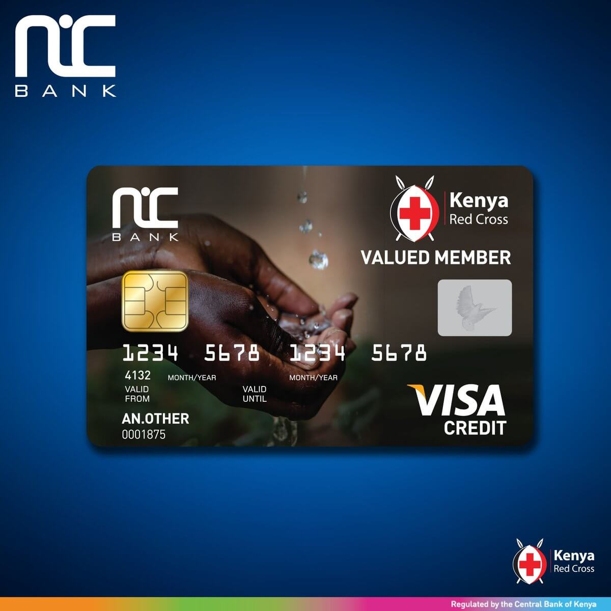 NIC Bank Kenya Red Cross Credit Card